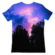Forest Nebula Womens T-shirt