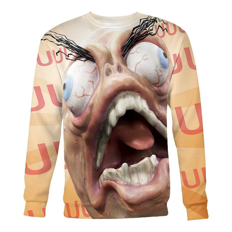 Rage Face Sweatshirt