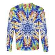 Oil Snowflake Sweatshirt