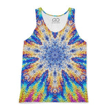 Oil Snowflake Tank-Top