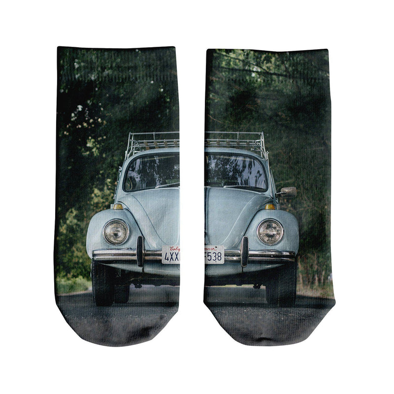 VW Beetle Ankle Socks