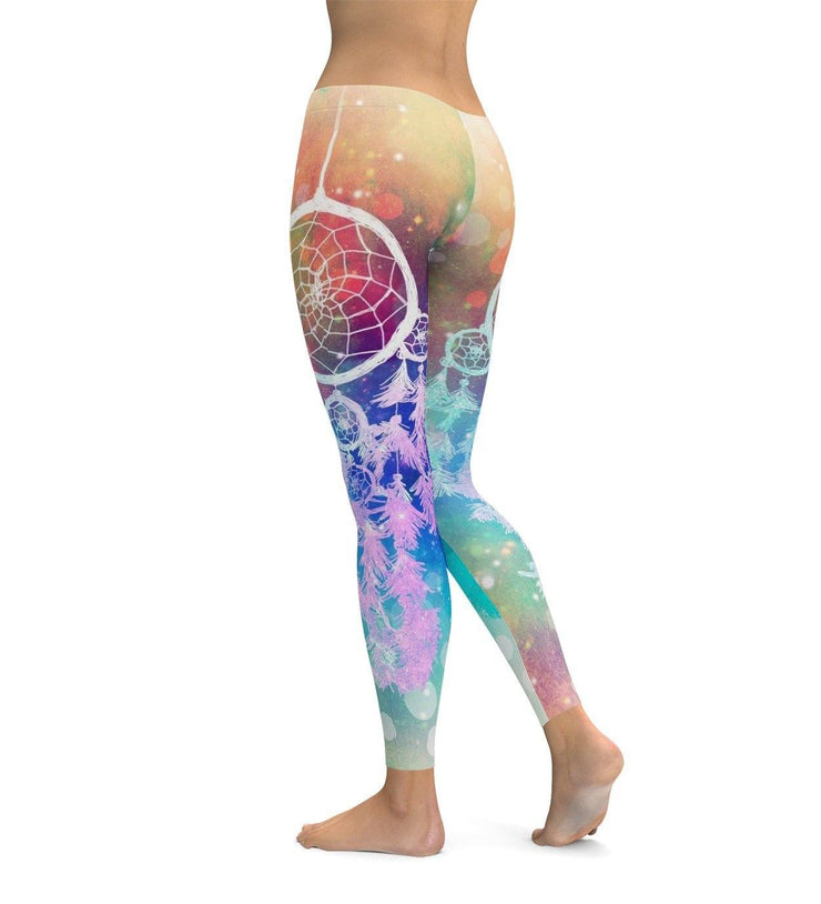 Rainbow Dream Catcher Leggings