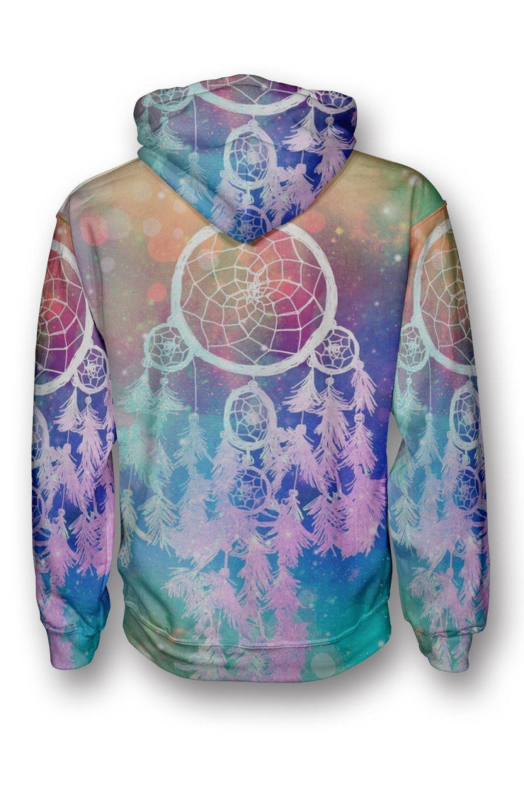 Rainbow Dream Catcher Pullover Hoodie