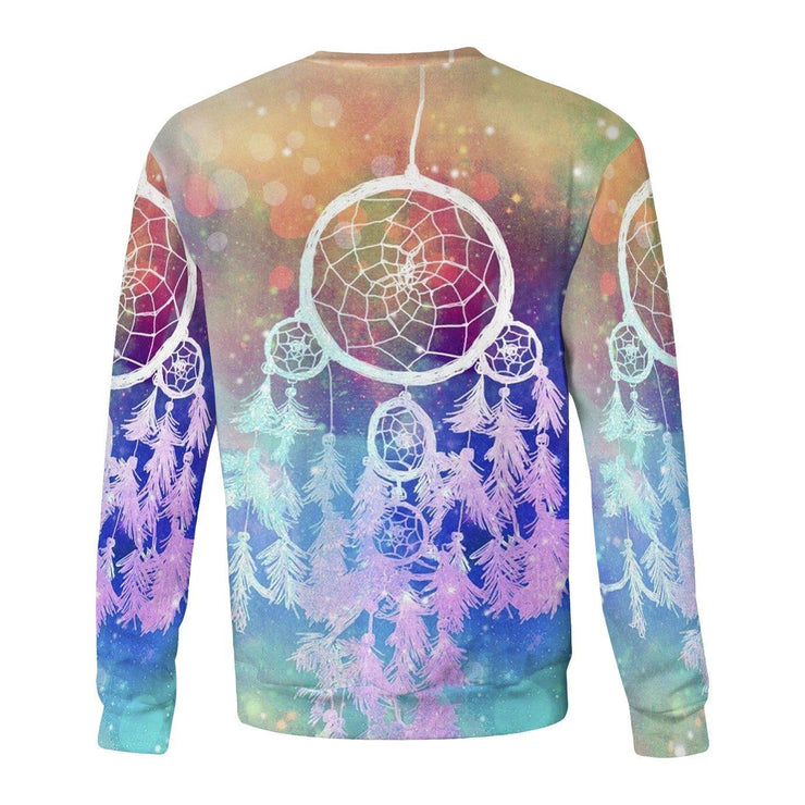 Rainbow Dream Catcher Sweatshirt