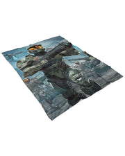 Master Chief Fluffy Blanket
