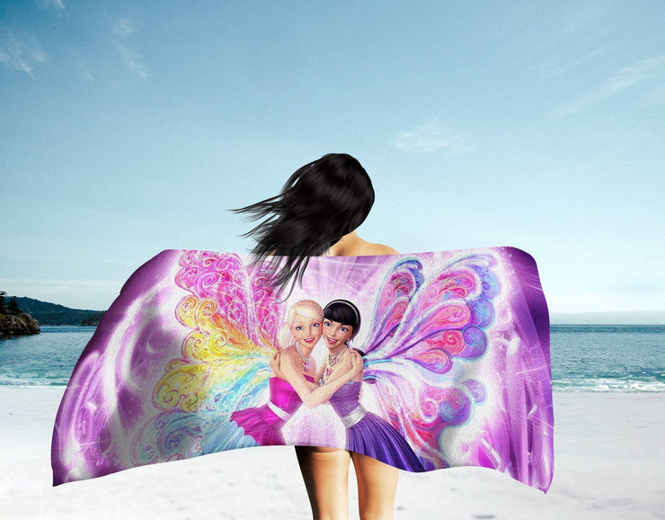 Barbie Fairies Beach Towel