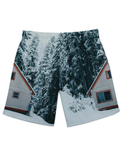 Winter Cabin Athletic Shorts