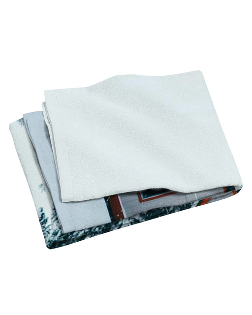 Winter Cabin Beach Towel