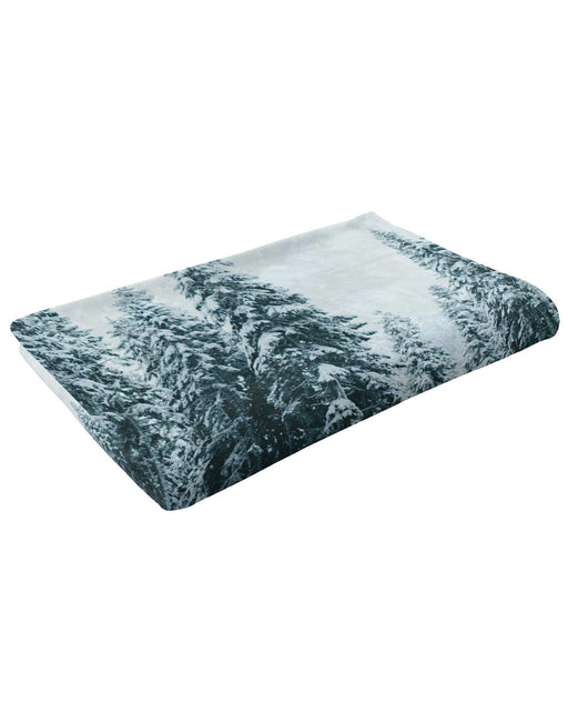 Winter Cabin Fluffy Blanket