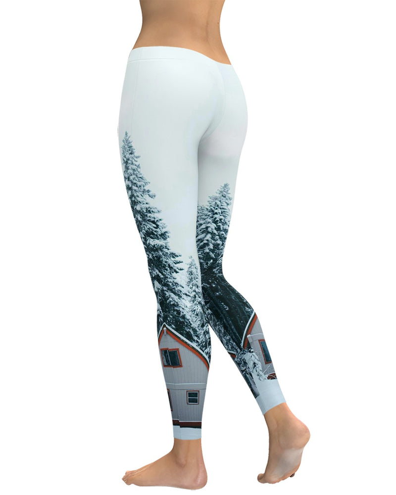Winter Cabin Leggings