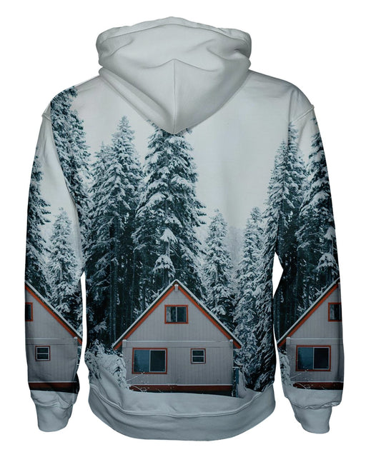 Winter Cabin Pullover Hoodie