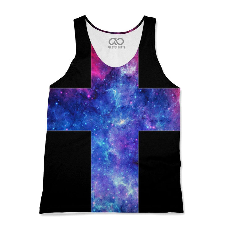 Galaxy Cross Tank-Top