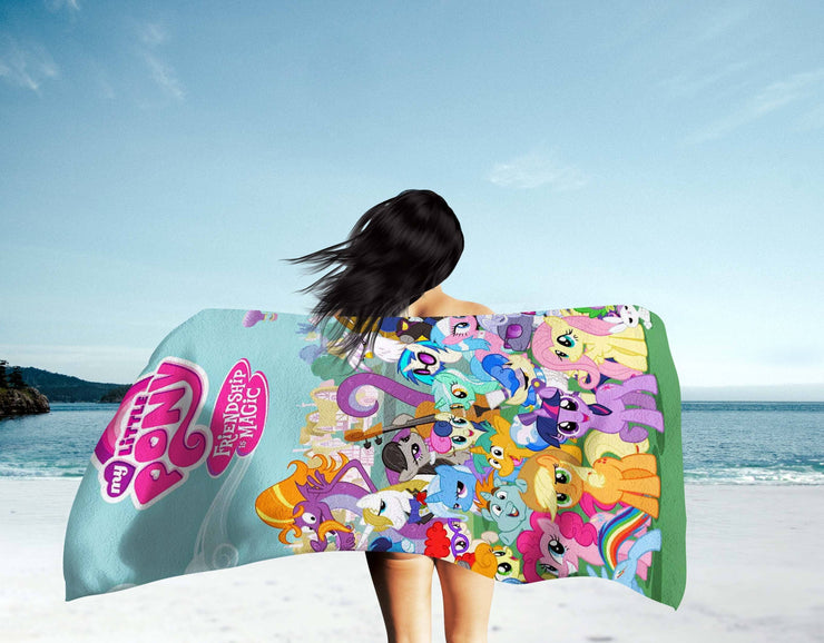 My Little Pony Beach Towel