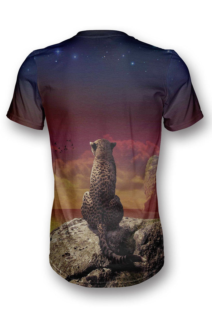 Thinking Leopard T-shirt