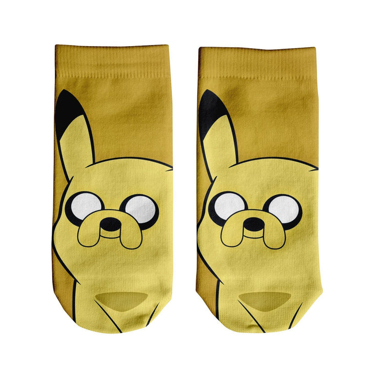 Pinkachu Adventure Ankle Socks
