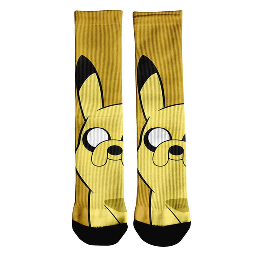 Pinkachu Adventure Crew Socks