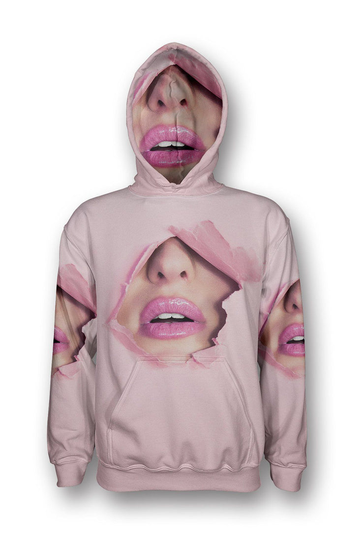 Mouth Punch Pullover Hoodie