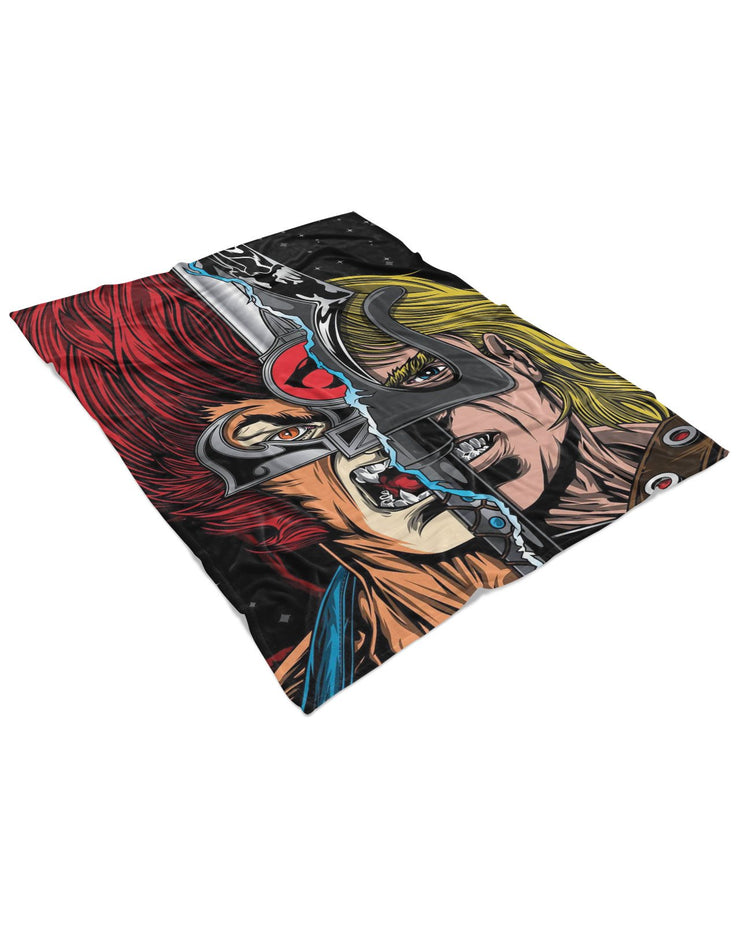 Thundercats Fluffy Micro Fleece Throw Blanket