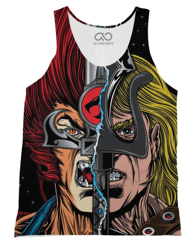 Thundercats printed all over in HD on premium fabric. Handmade in California.