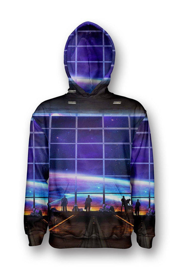 Space Station Pullover Hoodie