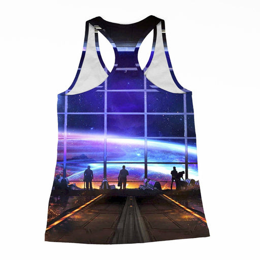 Space Station Racerback-Tank