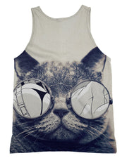 Hipster Kitty Tank-Top