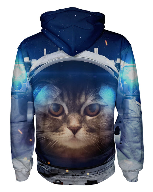Astro Kitty Pullover Hoodie