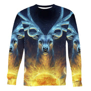 God Deer Sweatshirt