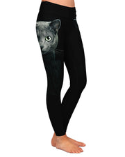 Black Cat Yoga Leggings