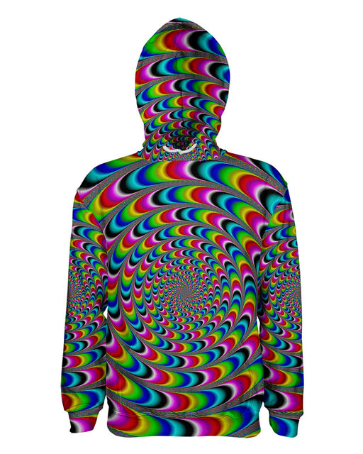 Rainbow Illusion printed all over in HD on premium fabric. Handmade in California.