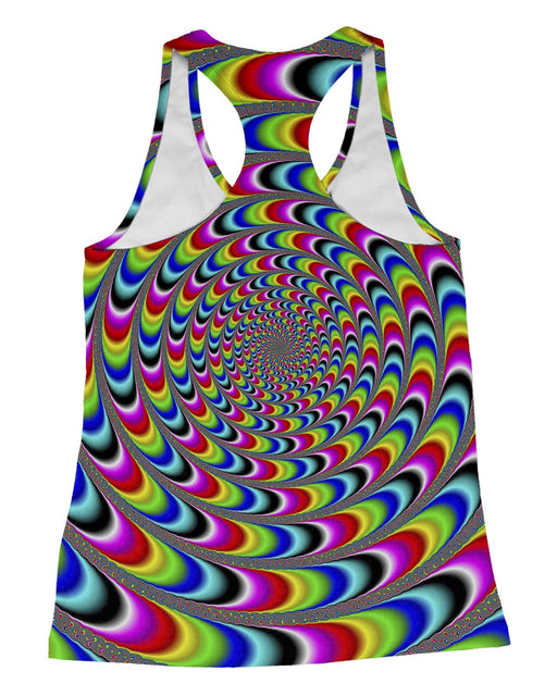 Rainbow Illusion Racerback-Tank