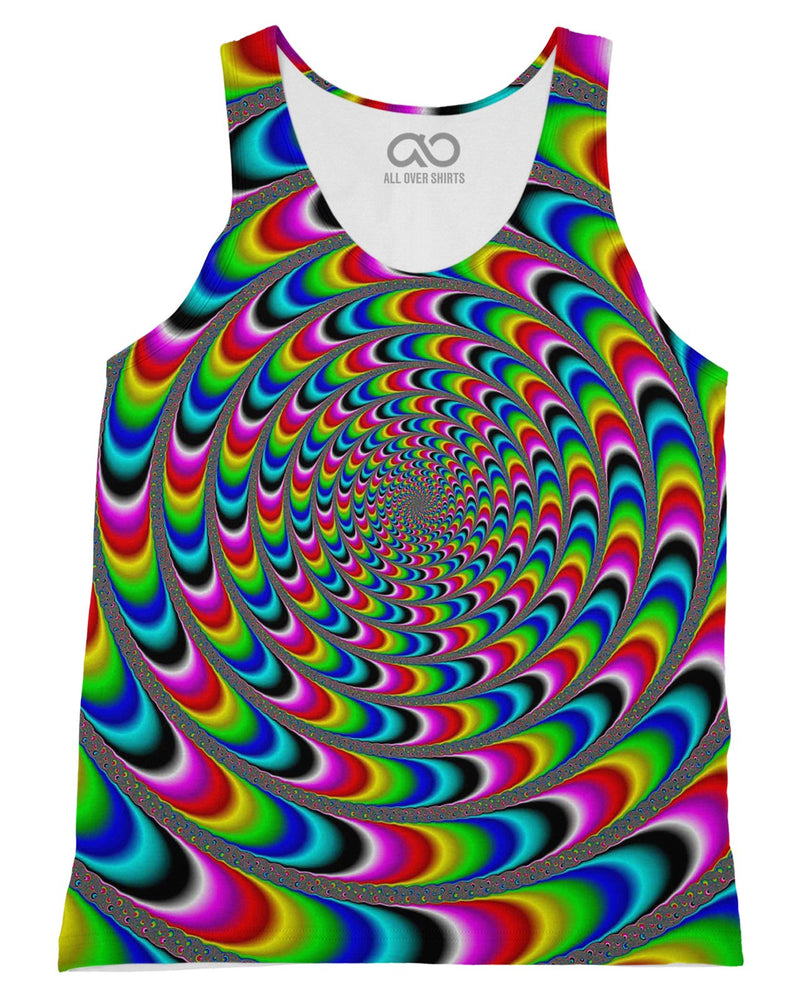Rainbow Illusion Tank-Top