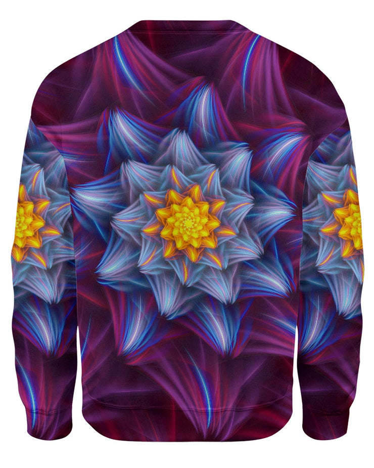 Trippy Flower Sweatshirt