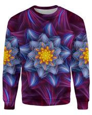 Trippy Flower printed all over in HD on premium fabric. Handmade in California.