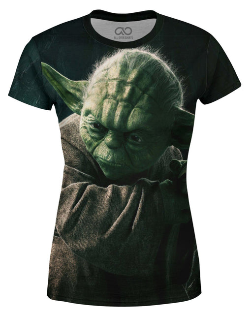 Yoda printed all over in HD on premium fabric. Handmade in California.
