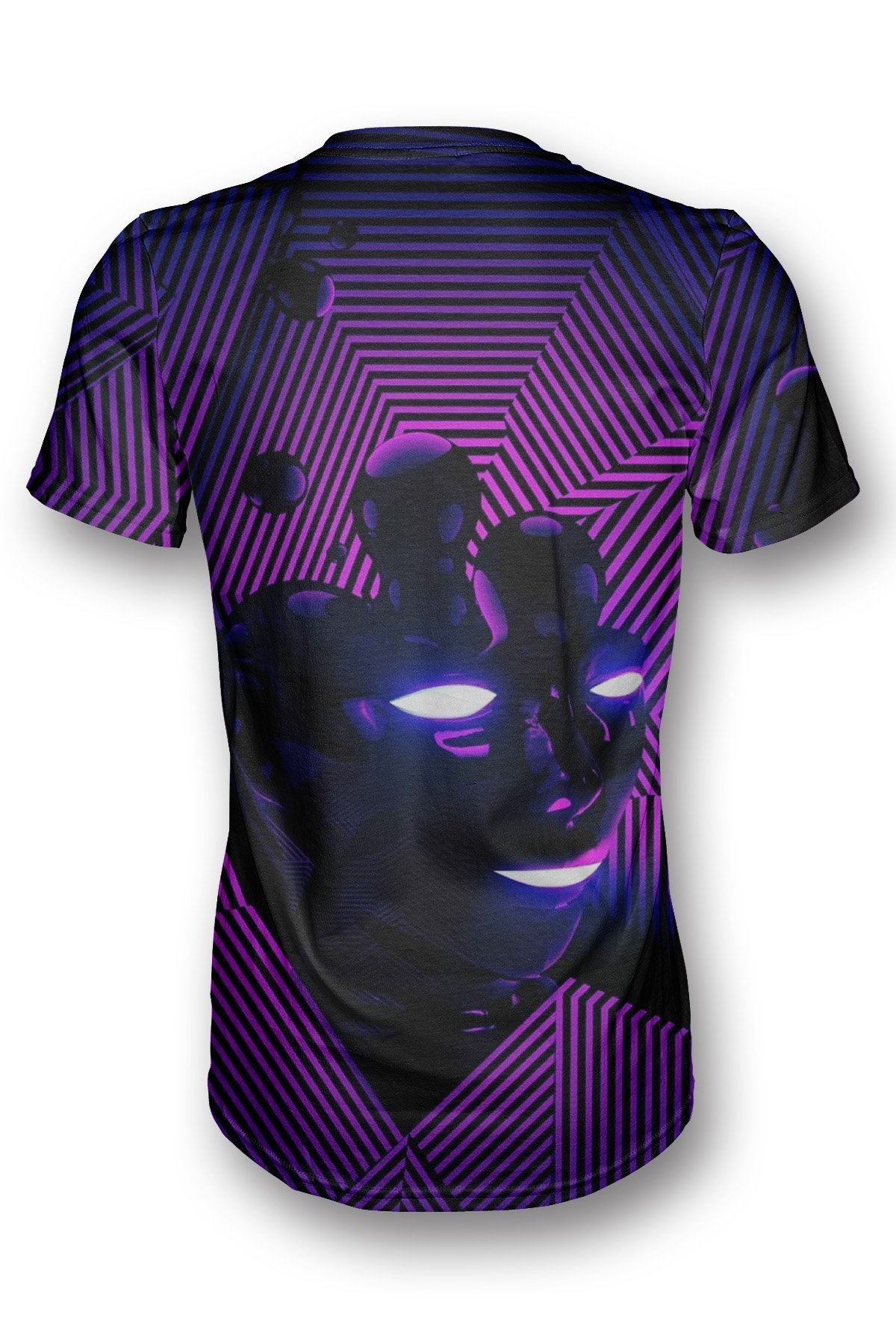 Purple Face T-shirt