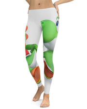 Yoshi printed all over in HD on premium fabric. Handmade in California.
