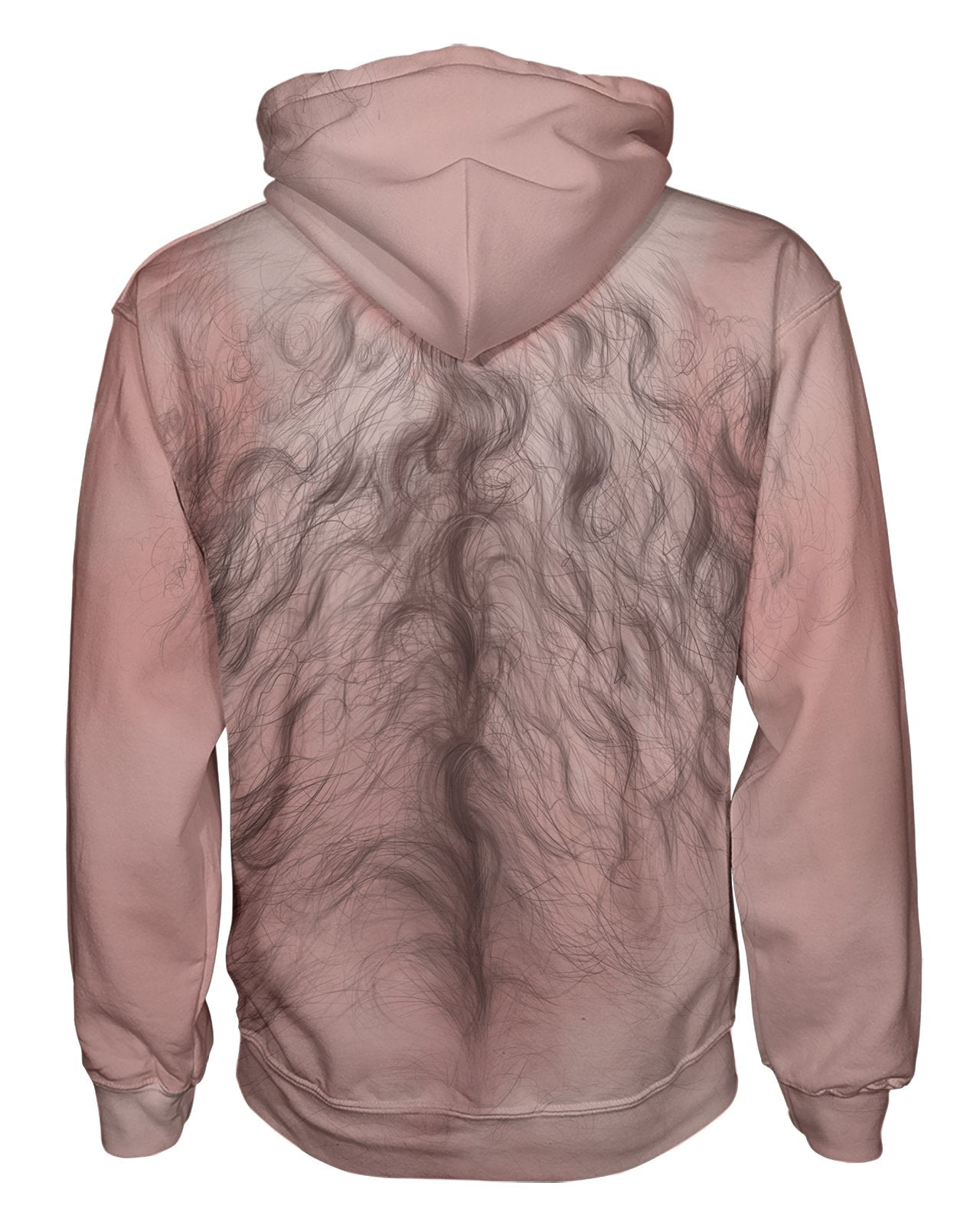 Hairy Chest Zip Hoodie