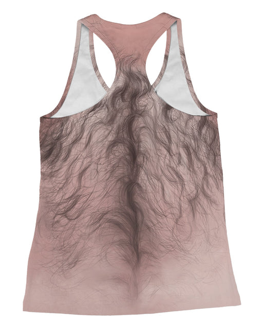 Hairy Chest Racerback-Tank