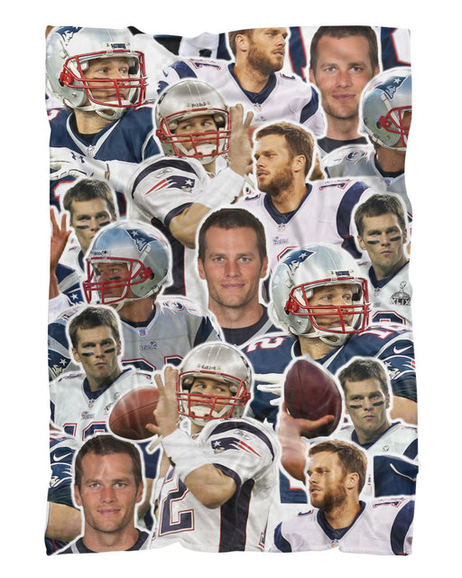 Tom Brady Fluffy Blanket