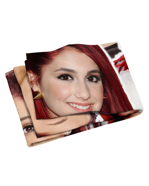 Ariana Grand Young Beach Towel