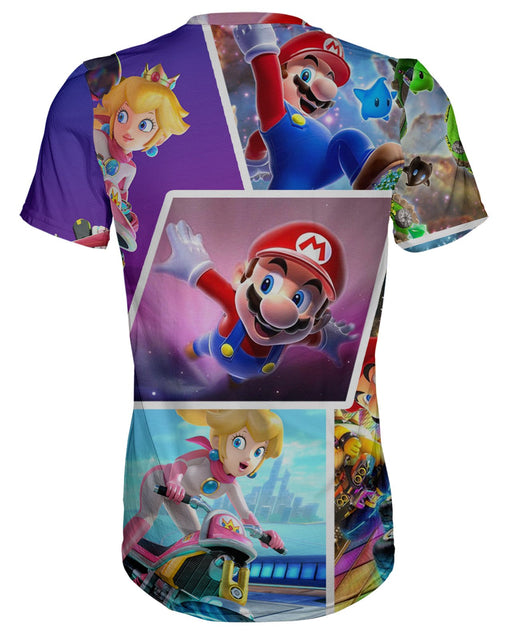 Super Mario Collage T-shirt