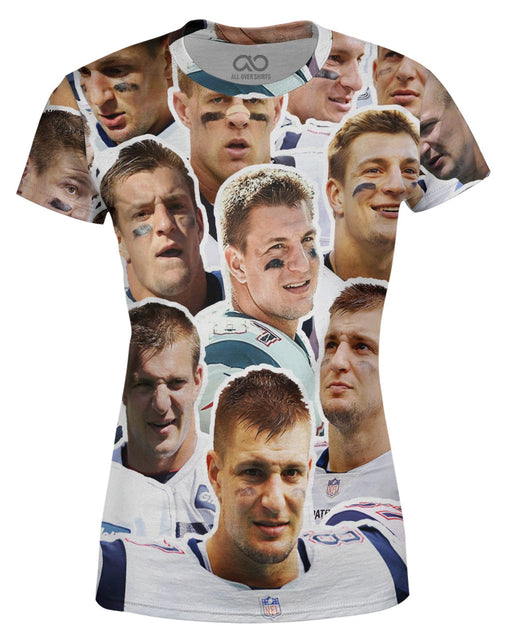 Rob Gronkowski printed all over in HD on premium fabric. Handmade in California.