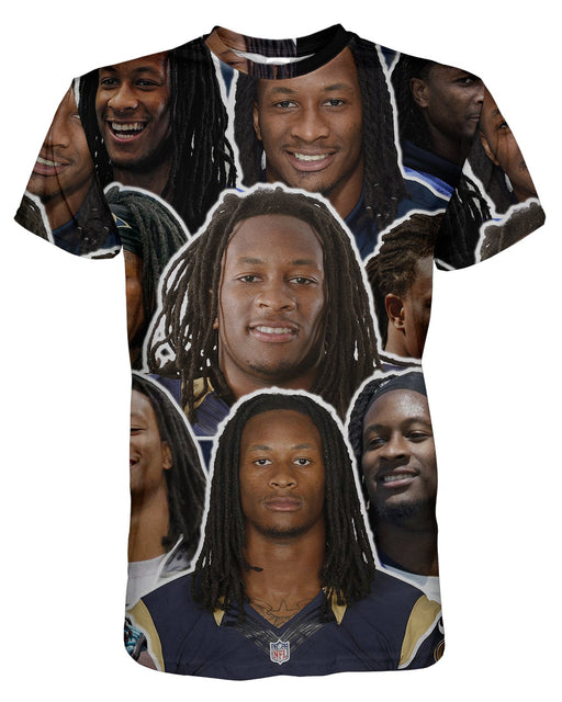 Todd Gurley printed all over in HD on premium fabric. Handmade in California.