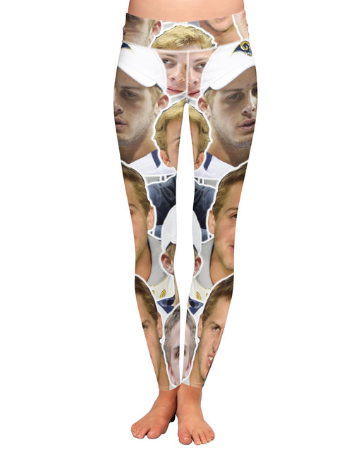 Jared Goff Yoga Leggings