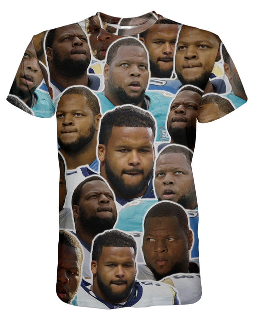 Ndamukong Suh printed all over in HD on premium fabric. Handmade in California.