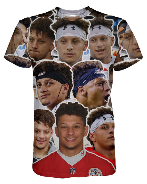 Patrick Mahomes II printed all over in HD on premium fabric. Handmade in California.