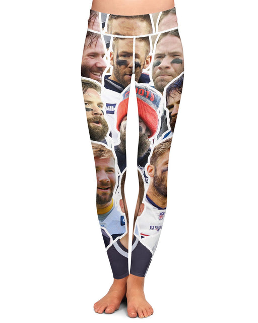 Julian Edelman Yoga Leggings