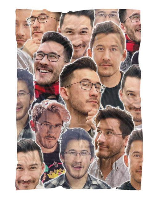 Markiplier printed all over in HD on premium fabric. Handmade in California.