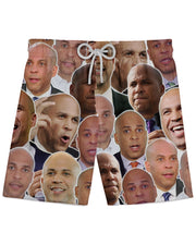 Cory Booker Athletic Shorts